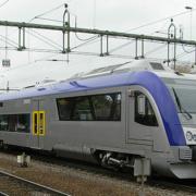 tåg på station